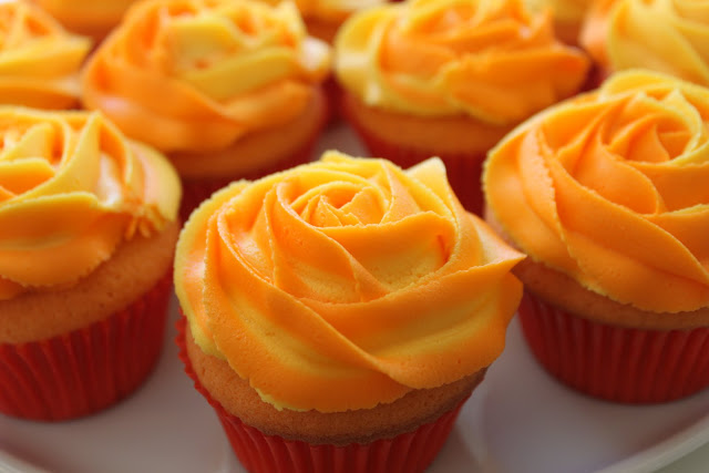 Orange Cupcakes - Random Photo (35742915) - Fanpop