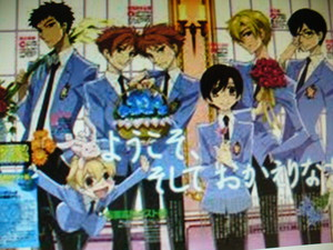 Ouran's Host Club.