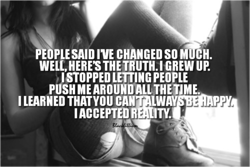 Quotes wallpaper called People Change