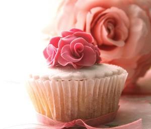 berwarna merah muda, merah muda cupcake ♥