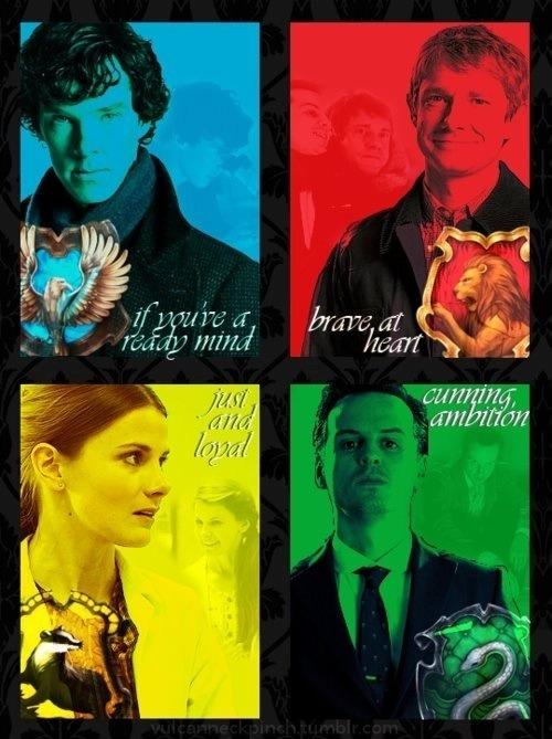 John And Sherlock Potterlock - Anj and J...