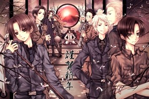 Prussia and the gang!