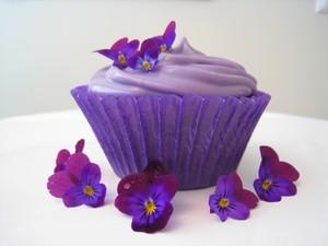 Purple cupcake ♥