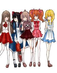 RPG Horror Girls