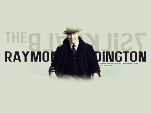 The Blacklist wallpaper with a fedora titled Raymond Reddington