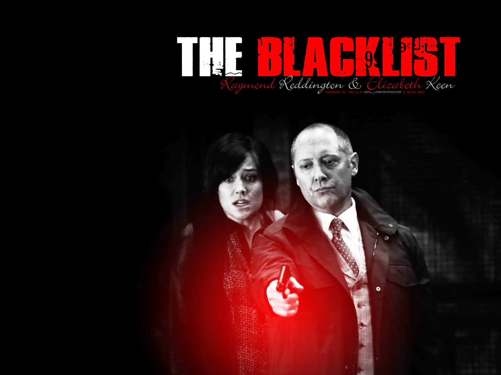 The Blacklist images Reddington and Keen HD wallpaper and ...