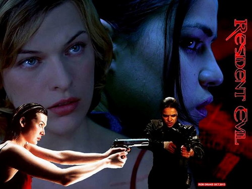 Resident Evil Movie 壁纸 probably containing a portrait entitled Resident Evil