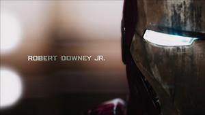 Robert Downey Jr/ Iron Man
