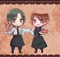 Romania and what's that other guys name? - hetalia-romania photo
