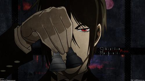 Sebastian Michaelis wallpaper probably containing anime titled Sebastian M