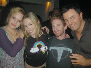 Seth Green, Seth MacFarlane, Kara Vallow
