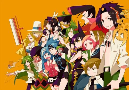 anime debat wallpaper entitled Shaman King