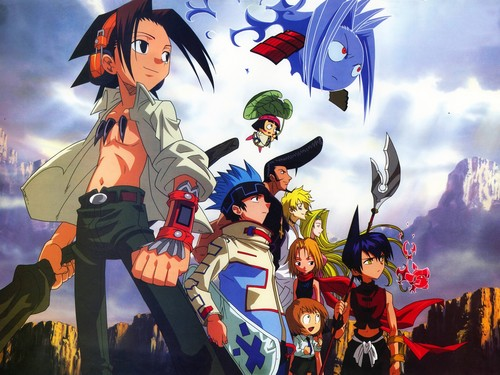 anime Debate achtergrond containing anime called Shaman King