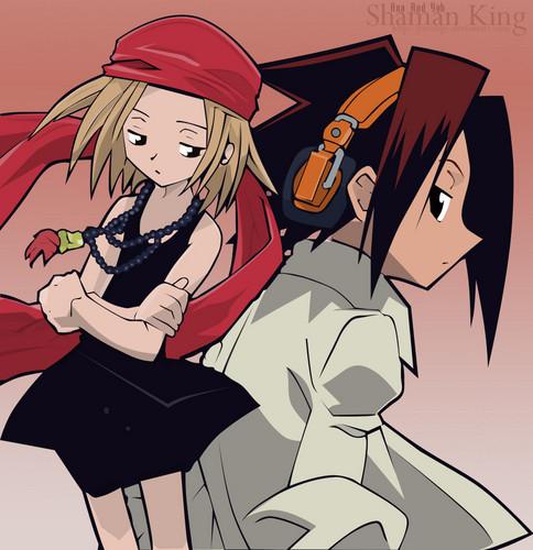 anime debat wallpaper containing anime called Shaman King