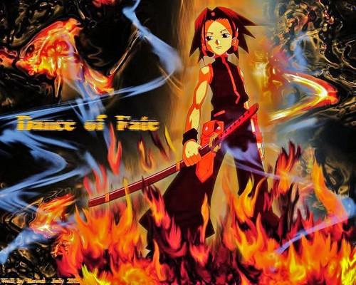 anime debat wallpaper containing anime entitled Shaman King