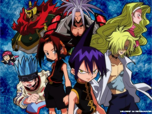 anime debat wallpaper with anime called Shaman King