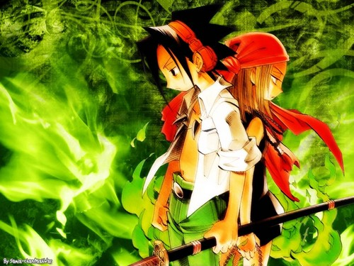 anime debat wallpaper entitled Shaman King