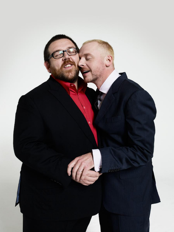 Simon Pegg, Nick Frost, + Ed Wright images Simon & Nick ...