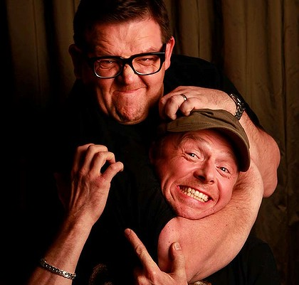 Simon & Nick ♥ - Simon Pegg, Nick Frost, + Ed Wright Photo ...