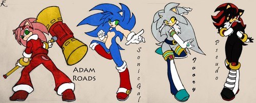 刺猬索尼克 壁纸 entitled Sonic Gender Bender