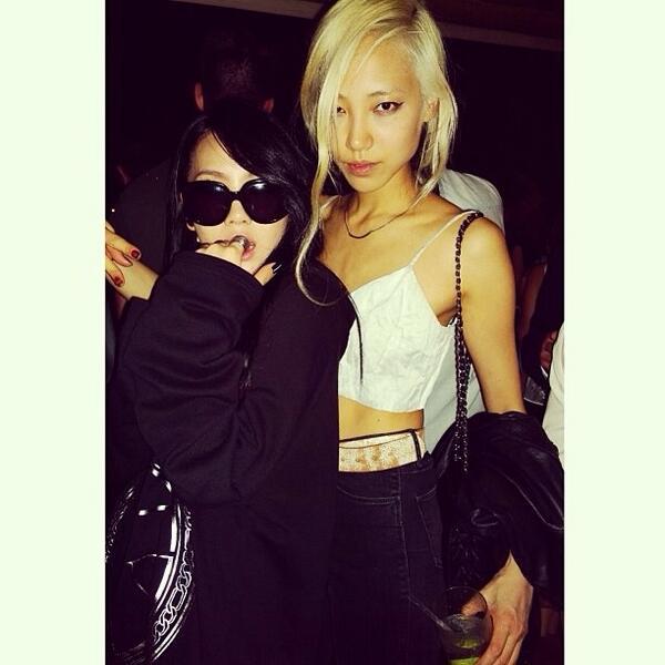 Soo Joo Park and CL (130911)
