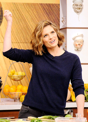 Stana on The Chew