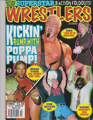 TV Wrestlers Magazine - August & May 1999