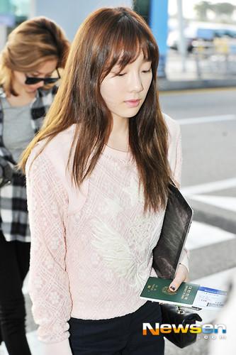 Taeyeon Airport - Taeyeon (SNSD) Photo (35789418) - Fanpop