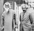 Tagore and Einstein