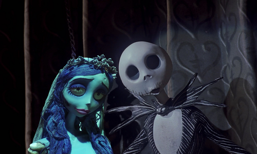 disney crossover wallpaper entitled The Corpse Bride Before natal