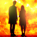 The Eleventh Doctor and Clara Oswald Icons