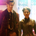 The Eleventh Doctor with Clara Oswald icon