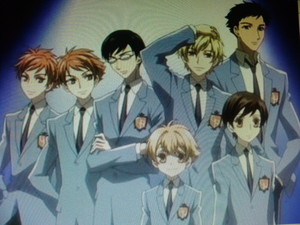 The Host Club of Ouran.
