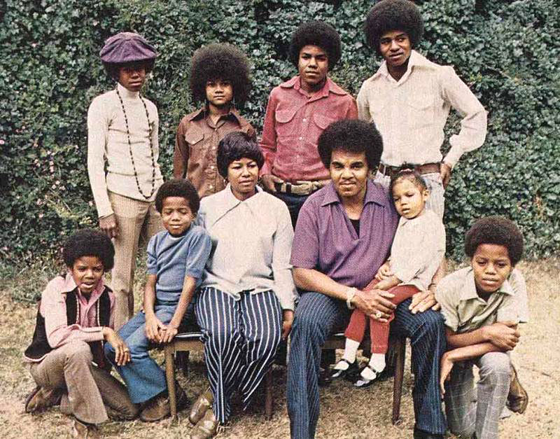 The Jackson Family Back In 1970