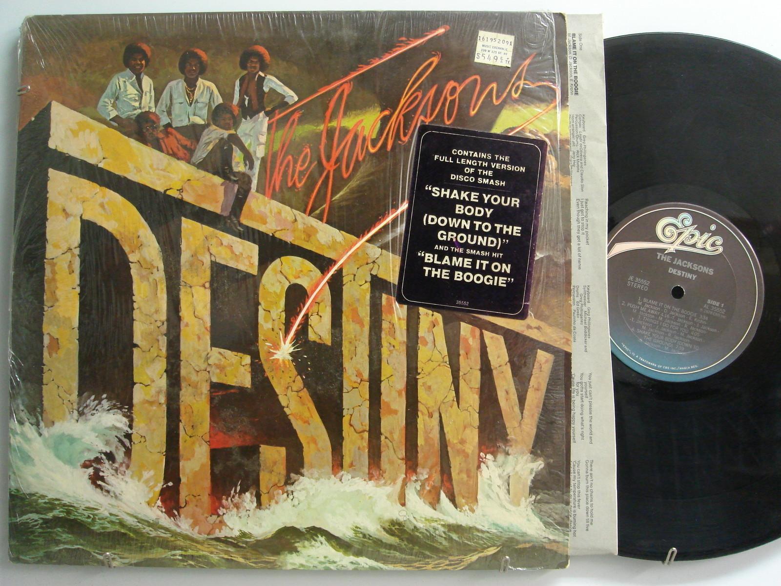 "The Jacksons 1978 Epic Release, ""Destiny"" On LP"