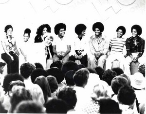 "The Jacksons On ""The Phil Donahue Show"" In The Mid-70's"