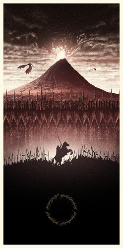 el señor de los anillos fondo de pantalla titled The Lord of the Rings - Amazing Poster Arts