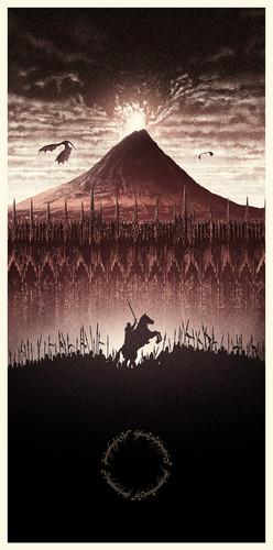 el señor de los anillos fondo de pantalla called The Lord of the Rings - Amazing Poster Arts