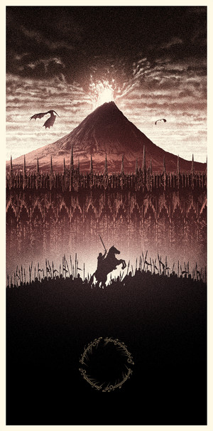 The Lord of the Rings - Amazing Poster Arts