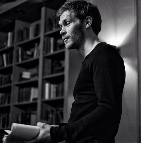 Joseph Morgan wallpaper with a bookshop, a library, and an athenaeum called The Originals behind the scenes: Joseph Morgan on first day of rehearsals