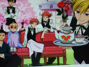 The Ouran Host Club and Tea.