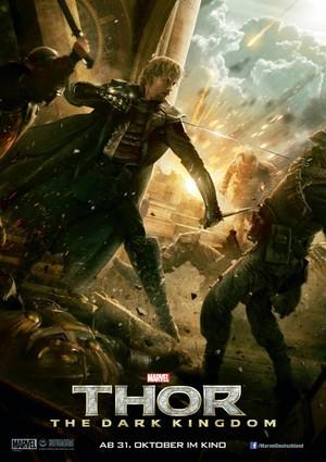 Thor: The Dark World Poster - Fandral