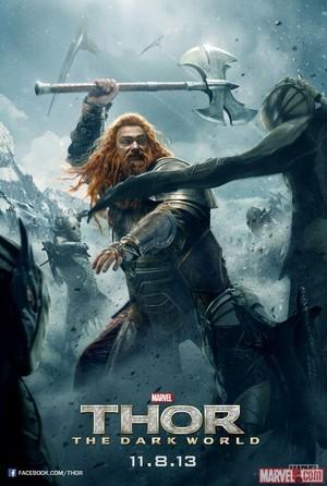 Thor: The Dark World Poster - Volstagg