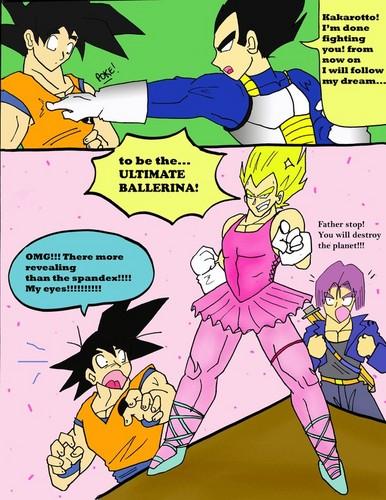 Dragon Ball Z kertas dinding containing Anime titled Vegeta