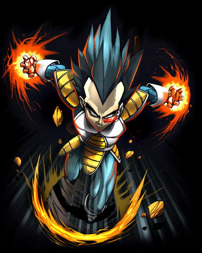 dragon ball z wallpaper probably with anime called Vegeta