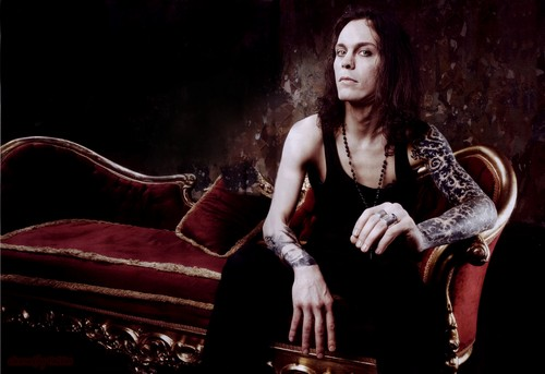 Ville Valo wallpaper containing a trono called Ville wallpaper