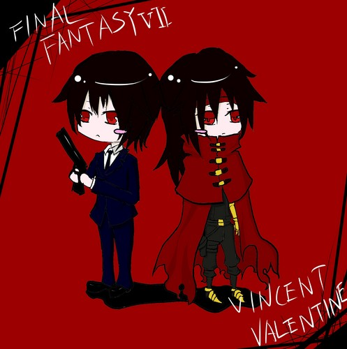 Vincent Valentine वॉलपेपर containing ऐनीमे titled Vincent