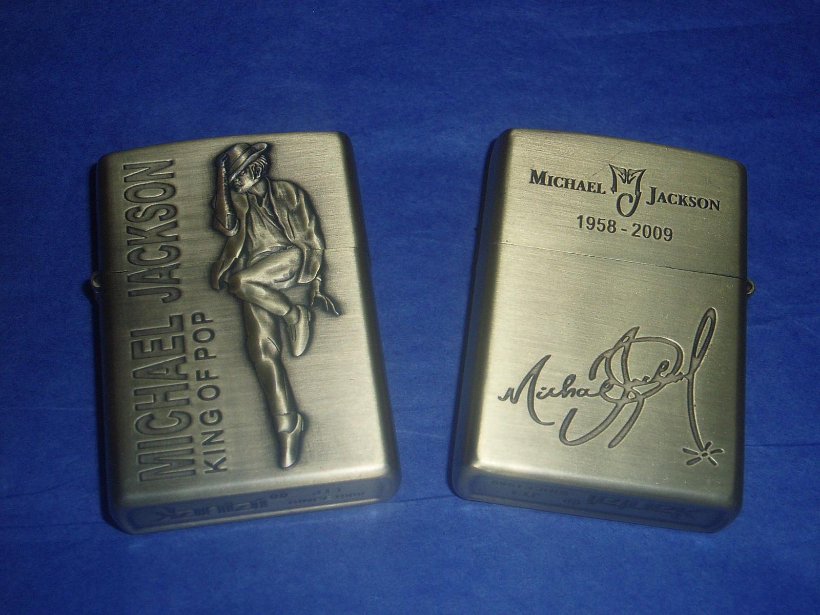 Vintgae Gold Michael Jackson Cigarette Lighters