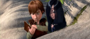 màu tím Parr (incredibles) and Hiccup (how to train your dragon) couple!