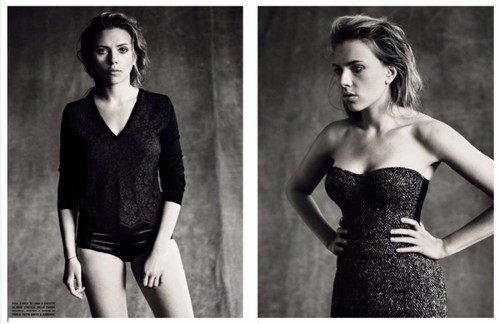 Scarlett Johansson Hintergrund called Vogue Italia October 2013